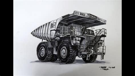 kumpulan mewarnai gambar sketsa truk desain interior