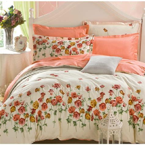 Cotton Bedding Sets Clearance Country Cotton Twill Clearance Floral Duvet Cover Sets Ogb14111106 78 99