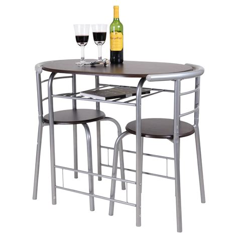 chicago 3 piece dining table and 2 chair set breakfast