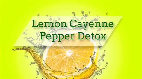 Lemon And Pepper Detox by All Detox Cleansing Tips Guide On How To