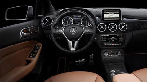 Interior B mercedes s b class interior images revealed