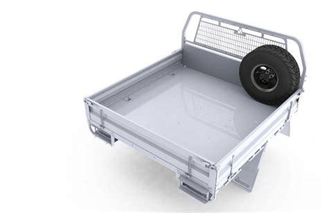 spare wheel mount tray headboard mounted minecorp