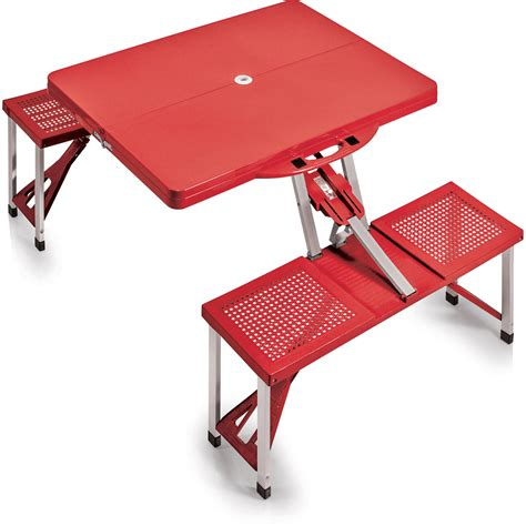 portable picnic table with benches picnic time portable picnic table with benches 811 00 100