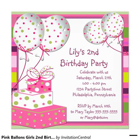 Birthday Card Invitations Invitation Cards For Birthday Party Gangcraft Net