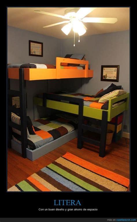 poco espacio pero bien utilizado habitacion  tres ninos habitaciones pequenas literas