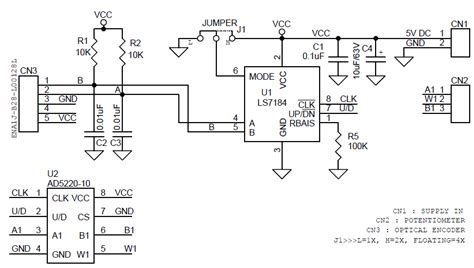 optical encoder circuit diagram ad5220 10 archives circuit ideas i projects i schematics