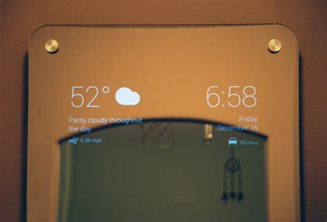 smart tips on where to put mirrors mirrors for dining room i made myself a smart mirror hacker noon