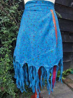sari silk wraps on pinterest wrap skirts saris and silk pink pixie wrap layered wrap skirt recycled silk sari