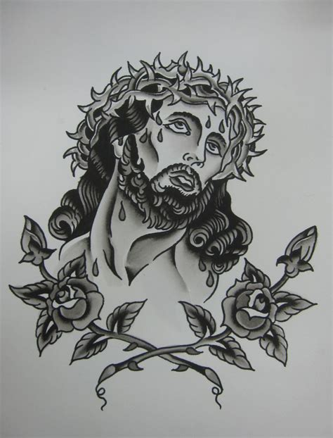 tattoo flash of jesus 323 best images about miscellaneous ii on pinterest