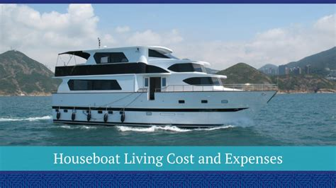 houseboat living cost and expenses basco - Houseboat Cost