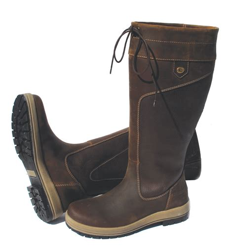 rhinegold vermont leather country boots fast tack direct