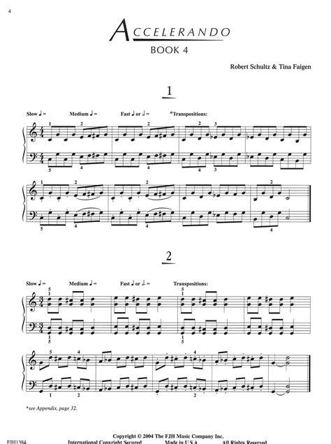Accelerando Book 4   Schultz Music Publications