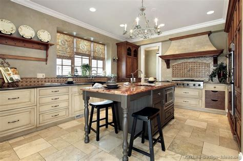 Country Kitchen Designs With Islands Pictures Of Kitchens Traditional White Antique Kitchen Cabinets Page 5