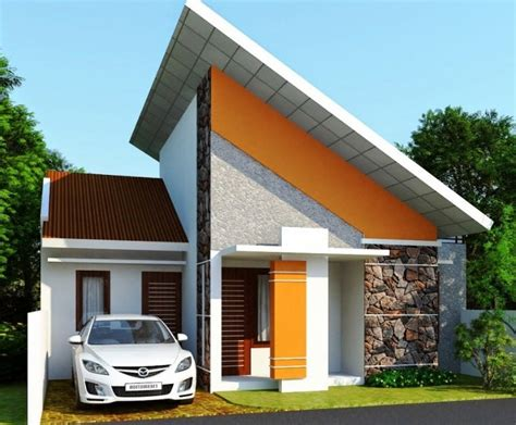 20 contoh rumah minimalis sederhana simple asri rumah minimalis