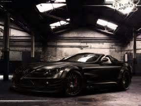 mercedes black 1 widescreen car wallpaper