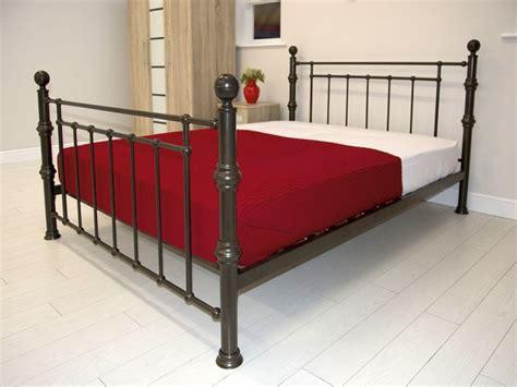 copper bed frame gfw kensington 5ft kingsize antique copper metal bed frame