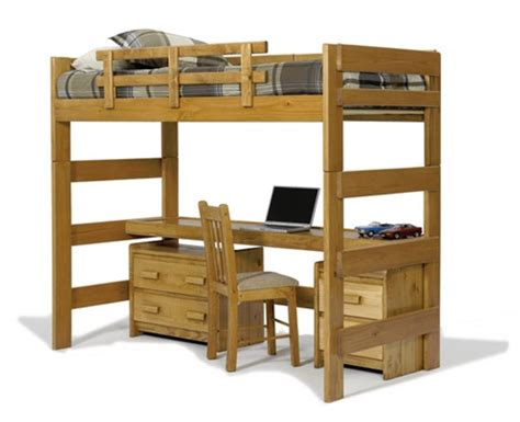 Bunkies For Bunk Beds Loft Bed With Desk And Bunkie Board Loft Seat N Sleep