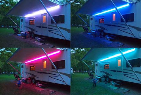 12v dc outdoor lighting rgb colour change led light 12v dc caravan motorhome