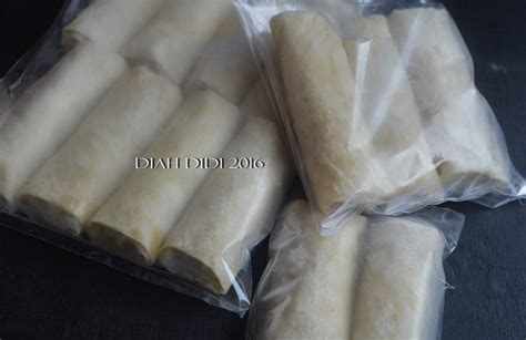 diah didis kitchen tips usaha lumpia frozen