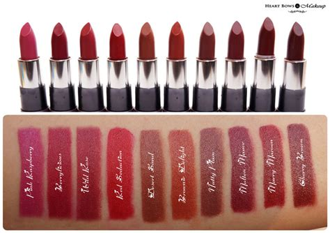 Lipstik The One Oriflame The One Matte Lipstick Review Swatches Price