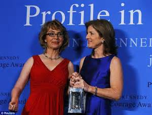 gabrielle giffords courage former rep gabby giffords receives profile in courage