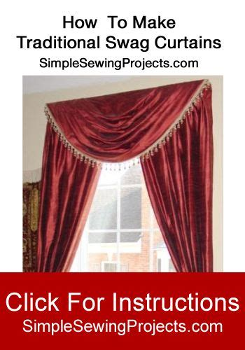 how to sew swag curtains how to make traditional swag curtains swag curtains and