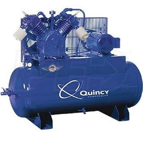 quincy 2153ds12hca23 15 hp 120 gallon two stage qt pro air compressor 230v 3 phase