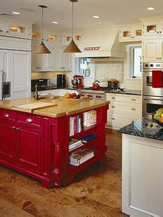 red kitchen islands 1000 images about the kitchen island project on pinterest