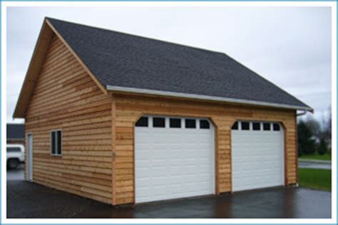 two car garage with loft northwest garages general contractor 1 and 2 car garages
