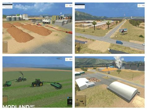 Ls California by California Central Valley Map V 1 0 Beta Mod For Farming