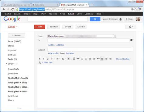 compose for chrome restores gmail s compose