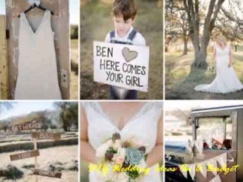 Wedding Ideas On A Budget by Diy Wedding Ideas On A Budget