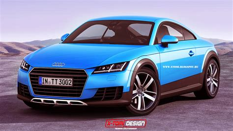 Audi Produktion by Production Audi Tt Allroad Rendered Gtspirit