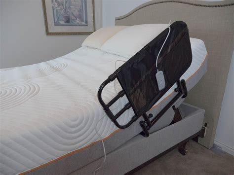 stander ez adjust pivoting home bed rail health personal care