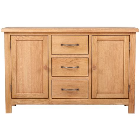 sideboard 70 cm hoch large sideboard with 3 drawers 110 x 33 5 x 70 cm oak