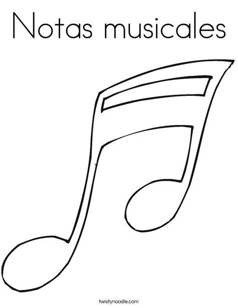 bordes para notitas colouring pages image gallery notas musicales para colorear