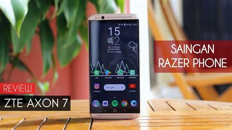 Hp Zte Indonesia hp gaming zte axon 7 review indonesia