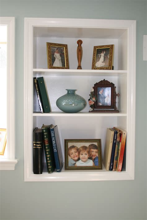 In Wall Shelves Wall Shelves For Books Design Homesfeed