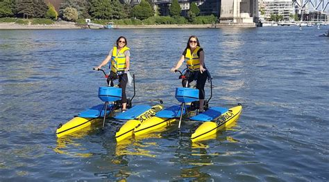pedal boat rental vancouver park board approves water bike rentals for english bay and