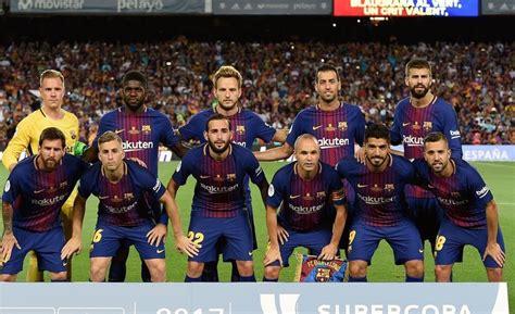 barcelona daftar nama daftar skuad pemain barcelona 2017 2018 terbaru info akurat