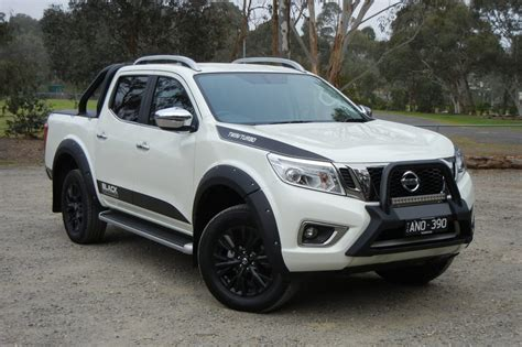 nissan navara 2017 sports edition nissan navara n sport black edition 2018 review carsguide