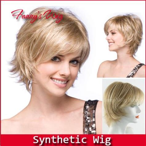 best style wigs for the elderly fanny s best wig new stylish heat resistant short blonde