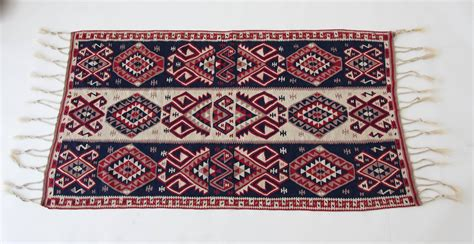 rugs with fringe antique kilim rug with braided fringe for sale at 1stdibs