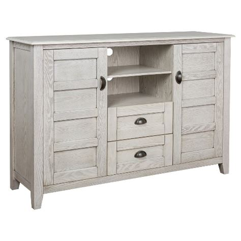 Angelo Home Rustic Chic 52 Inch Tv Console 52 Quot Rustic Chic Tv Console White Wash Angelo Home Target