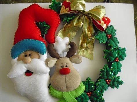 10 ideas para hacer tus adornos navide 241 os en fieltro