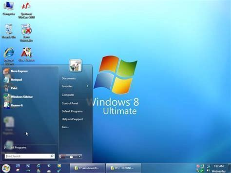 themes for pc windows 8 windows 8 superbar vista desktop theme windows desktop