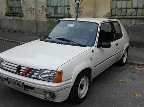 Rally Auto Usate by Sold Peugeot 205 1 3 Rallye Asi Used Cars For Sale