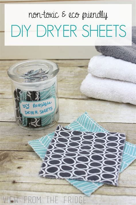 diy printable fabric sheets homemade dryer sheets view from the fridgeview from the