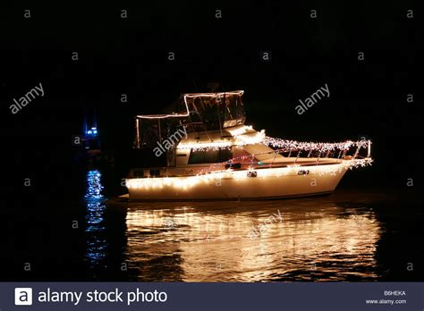 boat lights on the james boat with christmas lights on the james river part of an