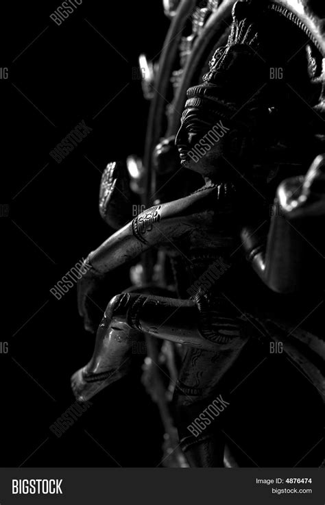 black and white wallpaper of god shiva hindu god on black image photo bigstock